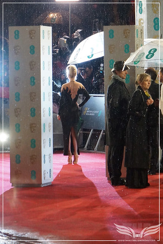The Establishing Shot: EE BAFTAs RED CARPET ALICE EVE POSES FOR PHOTOGRAPHERS by Craig Grobler