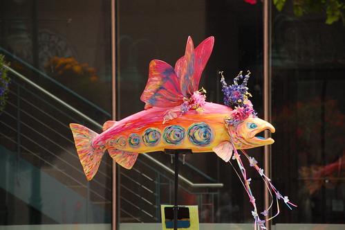 Anchorage Alaska Salmon Art