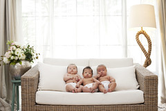 [Free Images] People, Children - Babys, People - Three Persons ID:201302220600