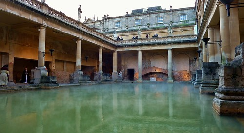 The Roman Baths,City of Bath,Somerset [Explore]