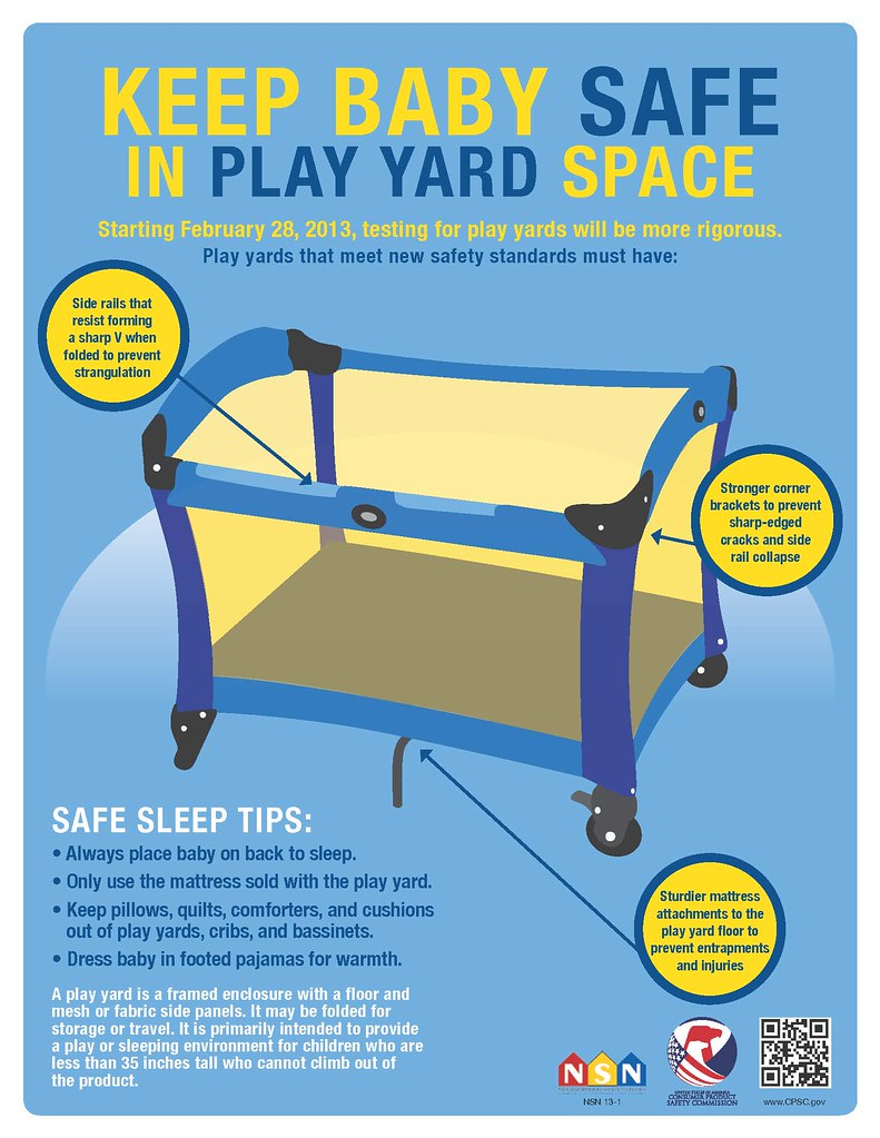Here's what play yards that meet the new standard must have