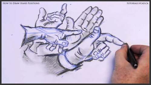 learn how to draw hand positions 023