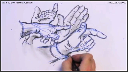 learn how to draw hand positions 019