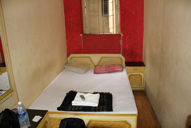 350 Rupee room at Afridi Hotel