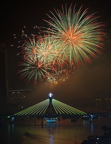 Fireworks on Danang Sky