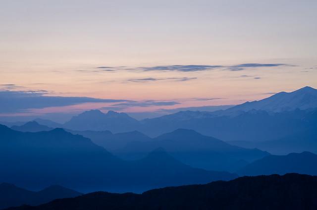 The Blue Hour - Before Sunrise from el Mirador del Fito, Caravia, Asturias