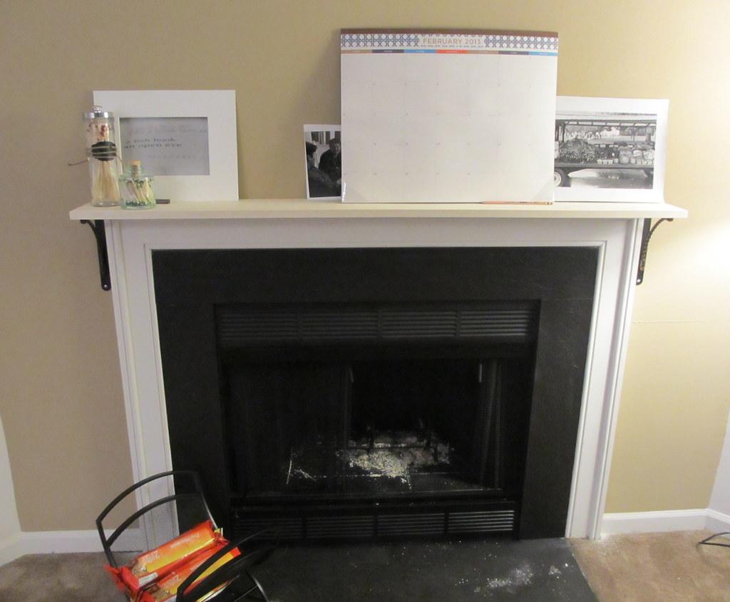 threadbare diy home fireplace mantle shelf. Black Bedroom Furniture Sets. Home Design Ideas