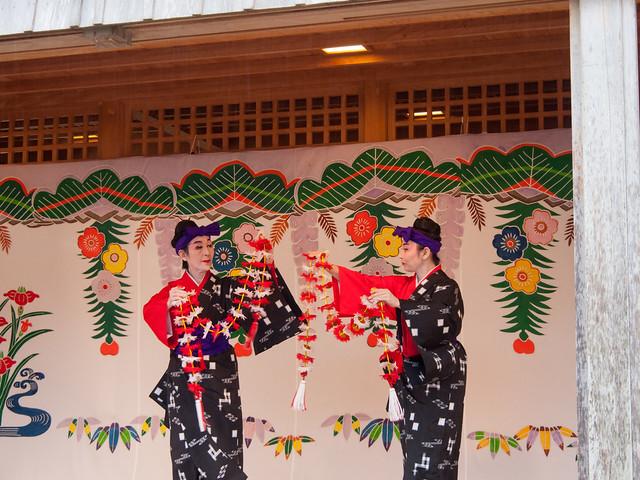Ryukyu dancing