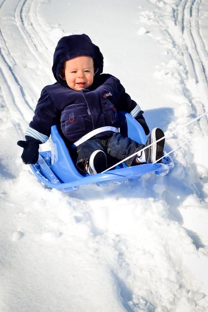 evan on sled 2