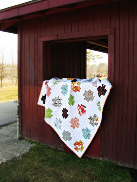 Mom's Flea Market Fancy Cross Quilt Picnic Shelter