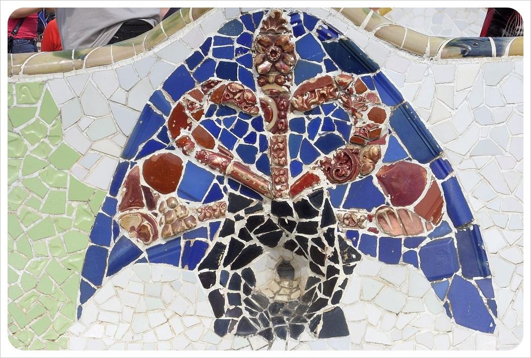Gaudi Mosaic Parque Guell