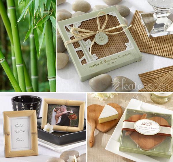 Eco Friendly Wedding Ideas: Bamboo Eco Friendly Wedding Favor Ideas