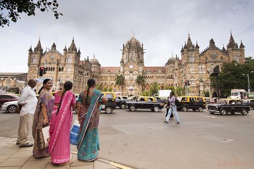 Bombay Gare Victoria Chhatrapati Shivaji Terminus Mumbai