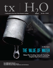 txH2O Winter 2013 Cover