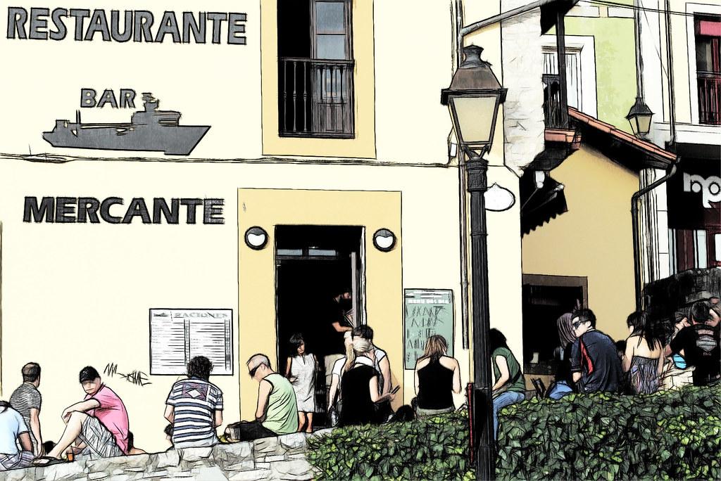 en Gijón: la cuesta del Cholo