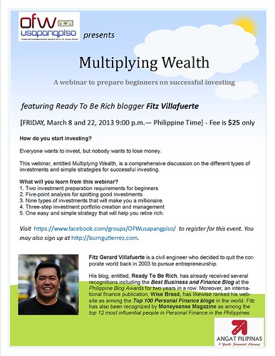 Multiplying Wealth poster