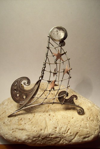 the fisherman stars brooch by marco_magro