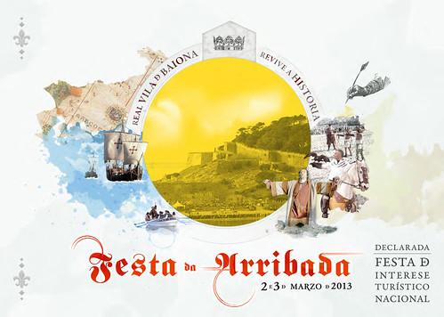Baiona 2013 - Festa da Arribada - cartel