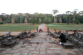 Image of  Terrace of the Elephants  near  Siem Reap. travel cambodia siemreap angkorthom terraceoftheelephants elephantterrace