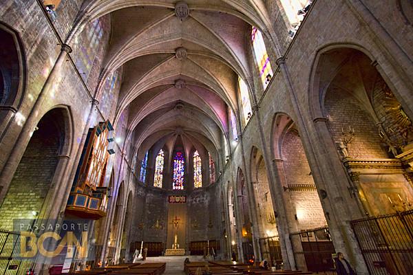 Santa Maria del Pi, Barri Gòtic, Barcelona