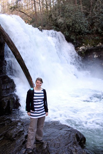 Jenni at Abrams Falls