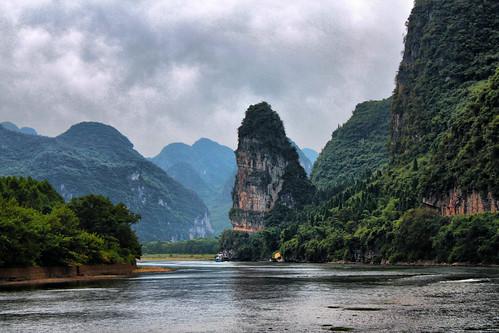 Crucero en el Rio Li ( 漓江 LIJANG)