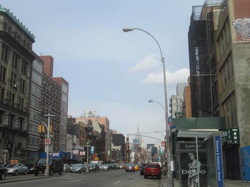 Bowery & Delancey St., Little Italy, NYC. Nueva York