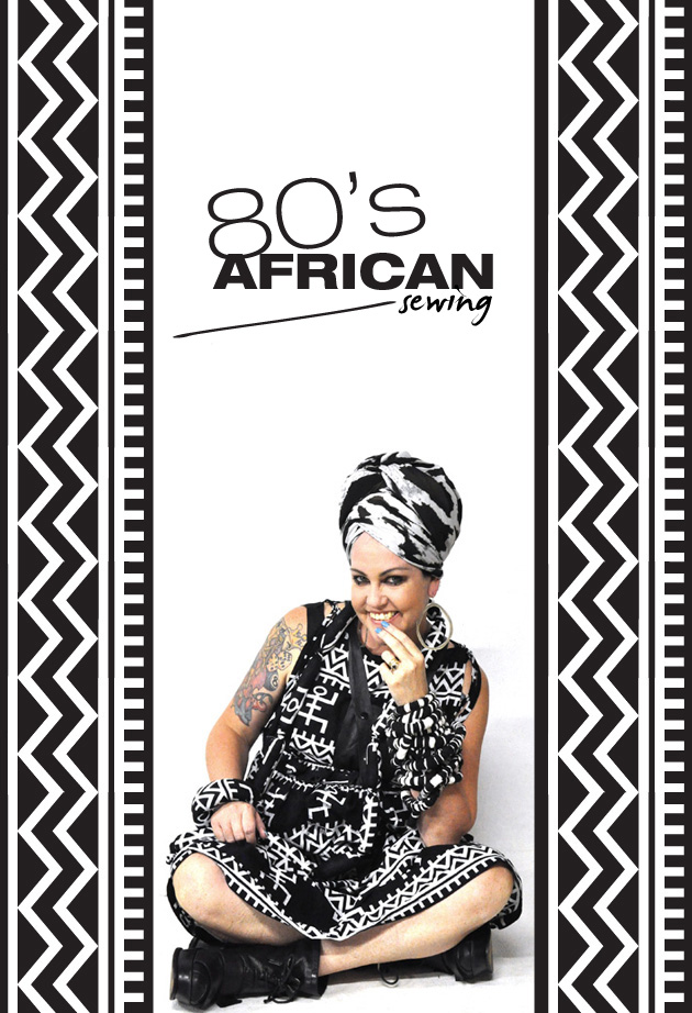 Kazzthespazz.com | 80's African Sewing