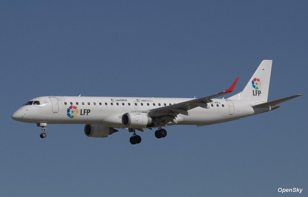 Air Europa Embraer ERJ-195LR (ERJ-190-200 LR) EC-KRJ (cn 19000196)
