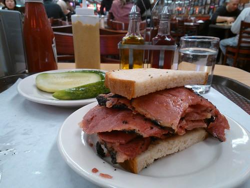 Half Pastrami Sandwich