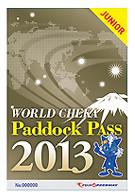 ワールドチェカパドックパスJr2013