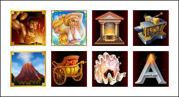 free Vulcan slot game symbols