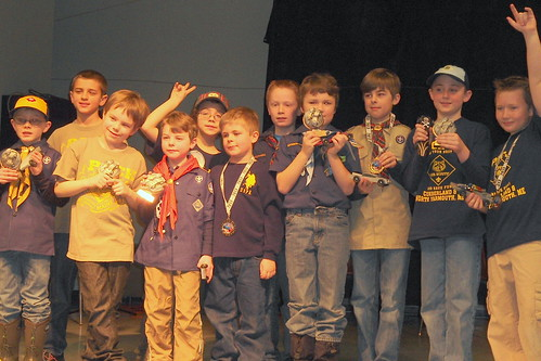 Winner's of the pinewood derby