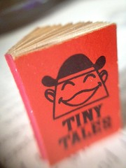 Tiny Thing #93a: Tiny Tales photo taken with DIY macro lens