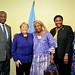 UN Women Executive Director Michelle Bachelet meets with Minister of Guinea