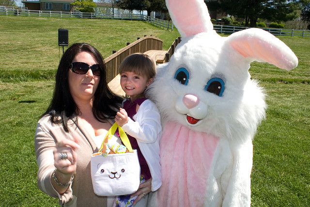 Easter Bunny is fun for all ages!