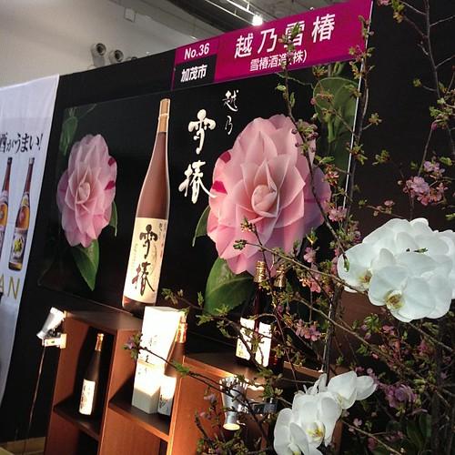 越乃雪椿、月の玉響は純米大吟醸で香りが良くて飲みやすい。お買い上げ。