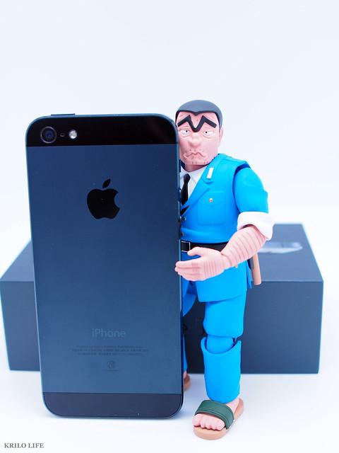 兩津 與 iPhone 5