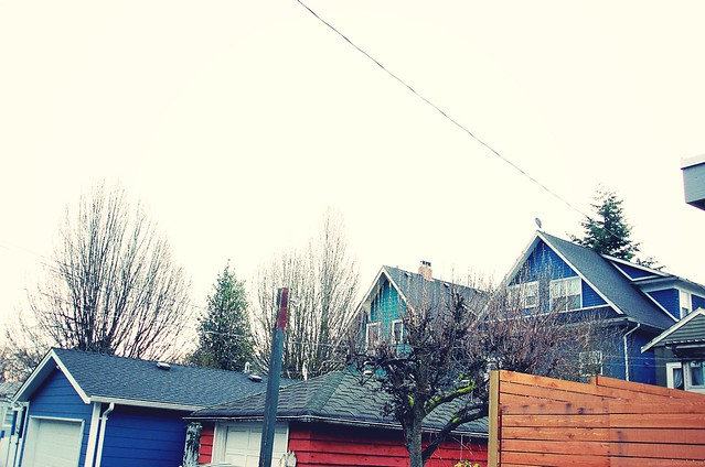 Spring neighbourhood.