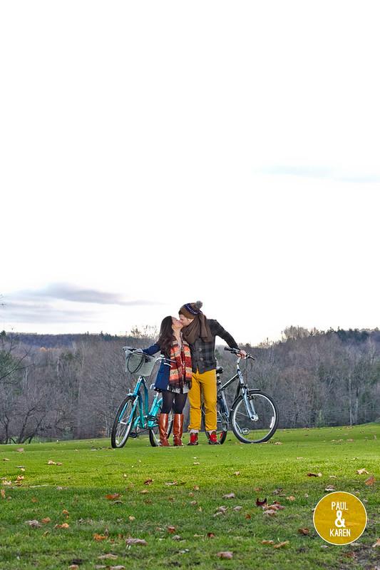 Paul and Karen - ottawa velo vogue