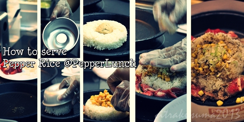 How to serve Pepper Rice
