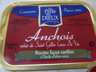 Anchois, Perle des Dieux, Saint-Gilles-Croix-de-Vie
