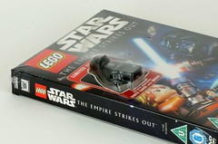 The Empire Strikes out exclusive Darth Vader minifig