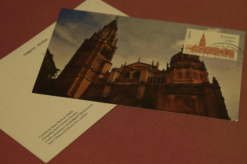 Postal de la Catedral de Toledo