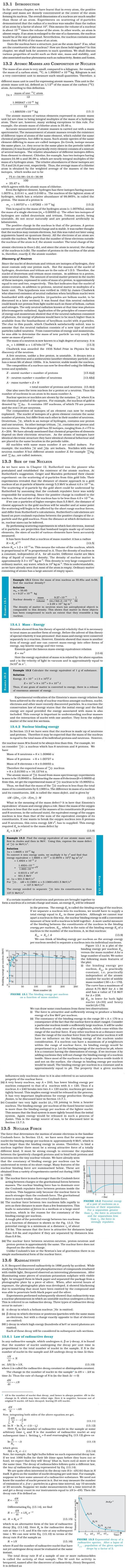 NCERT Class XII Physics Chapter 13 - Nuclei