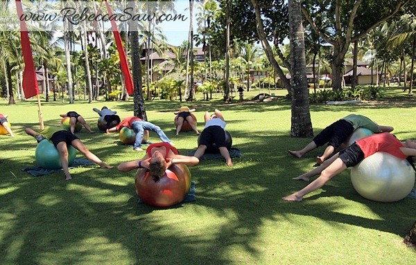 Rebecca saw 1Club Med Bali - Body and Soul - Four Colors in Four Days