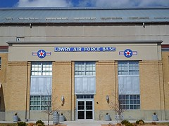 Lowry Air Force Base Sign