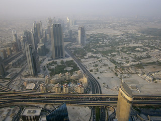 Buildings le long de la Sheikh Zayed Road et quartier Zabel 2