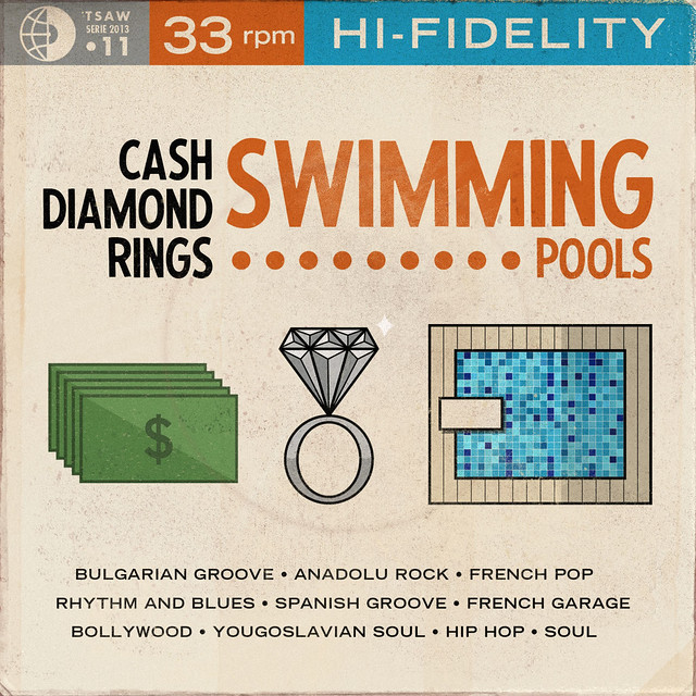 TSAW/2013.11 • Cash Diamond Rings Swimming Pools