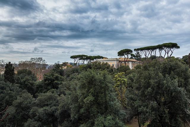 Jardins de la villa medicis rome mars 2013 flickr for Jardin villa medicis rome